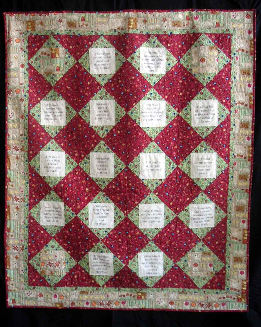 horse and little was were bunnies of buggers up s quick quilts perfect autumn tut on there days i close contrast crazy quilting a used top colors here quilt king the enough for one couple